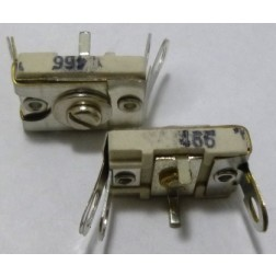 466 Trimmer Capacitor, compression mica, 105-480 pf