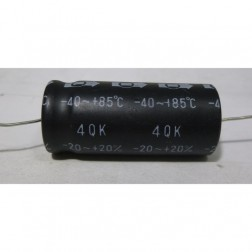 4QK Capacitor, Electrolytic 4700 uf 16v, Axial Lead, MFR: TC