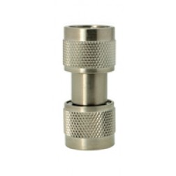 5004 Adapter, type-n(male)--(male), 0-18 ghz, passivated s.Steel, AERO