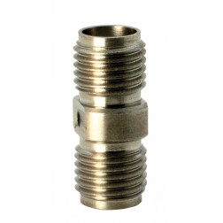 5010 Adapter, sma(female)--(female), 0-18 ghz, stainless, AERO