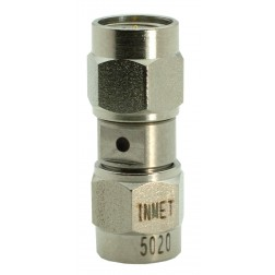 5020 Adapter, sma(male)--(male), 0-18 ghz, stainless, AERO