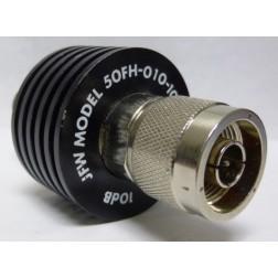 50FH-010-10 Attenuator, 10 Watt, 10dB, JFW (Clean Used)