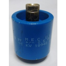 570008-15P  Capacitor, Doorknob 8pf 15kv, MEC (Clean Used)