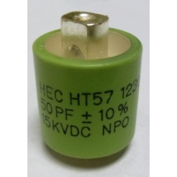570050-15 Doorknob Capacitor, 50pf 15kv, High Energy