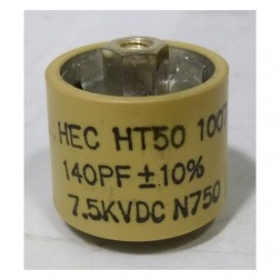 580140-7 Doorknob, 140pf 7.5kv