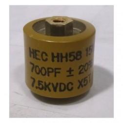 580700-7 Doorknob, 700pf 7.5kv 20%