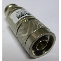 5-A-MFN-3-1 Attenuator, 5 Watt, 3dB, DC-4 GHz, Bird (Clean Used)