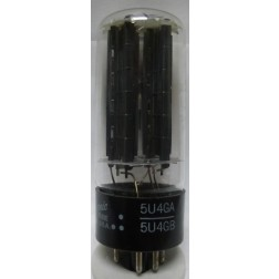 5U4GA  Tube, Full-Wave High Vacuum Rectifier, US Manufactured Tube