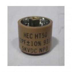 580062-5P Doorknob, 62pf 5kv, Clean pullout