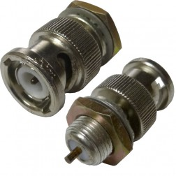 69-9022 - BNC Male Bulkhead Connector