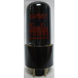 6V6GT-TAY Tube, Beam Power Amplifier, Taylor
