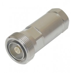 716F12S  7/16 DIN Female Connector, FSJ4-50