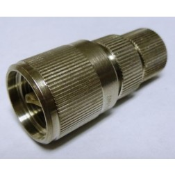 83-851 UHF Male 2 Piece Solder Type Connector (PL259), Straight, Knurled APL/RF