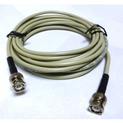 9907BMBM-14.4  9907/RG58 Cable Assembly, 14.4 feet, BNC Male to Male