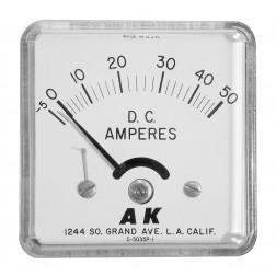 DCAM50 Panel meter, 50 amps