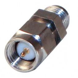P2RSA-3705-1 Precision adapter, sma, Male to female, hex ctr, AERO