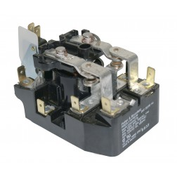PRDA-11AYB-24 Relay 25 amp dpdt w/microsw