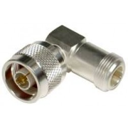 RFN1012-1 Right Angle Adapter, Type-N Male to Female