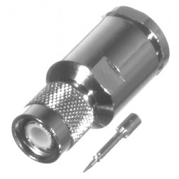 RFT1201-SI TNC Male Clamp Connector