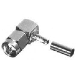 RSA3010-B Right Angle SMA Male Crimp