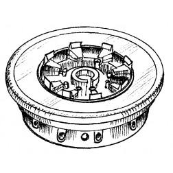 SK600A Socket, eimac, (sealed),  4cx150a. scr cap 2700 pf