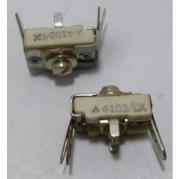 A4103/0X  Trimmer Capacitor, 6-30pf