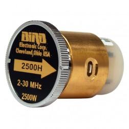BIRD2500H - Bird Element 2-30 mhz 2500w