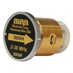 BIRD500H-1 - Bird Element 2-30 mhz 500 watt (Clean Used Condition)