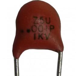 C102-1KV Capacitor, .001uf 1kv