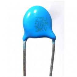 C102-3KV Disk Cap, .001uf 3kv
