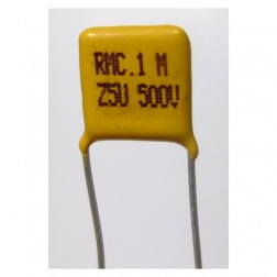 C104-500 Capacitor, disk .1uf 500v, Monolythic