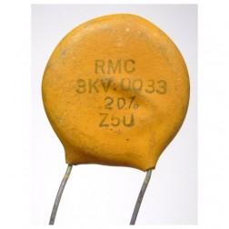 C332-3KV Capacitor, disk .0033uf 3kv