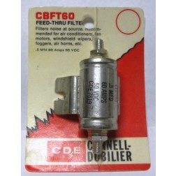 CBFT60 Filter, noise .5uf 60amp