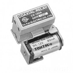 CX120A Coaxial relay, SPDT, Direct Connection, Tohtsu