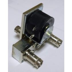 CX540D-26.5  Coaxial relay, SPDT,  3 BNC Female, Tohtsu (NOS)