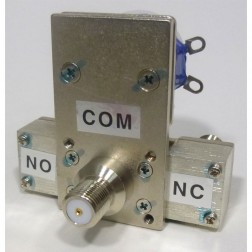 CX550F - 75 ohm Coax Relay, Type F connectors
