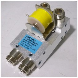 CX800N-24 Coaxial relay, DPDT, 24 vdc, Type-N Connectors, Tohtsu