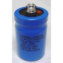 DCMC271T450AA2B Capacitor, 270uf 450vdc cde
