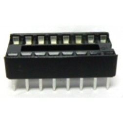 DIP16  IC Socket, 16 pin