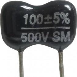 DM15-100 - 100pf 500v Mica Capacitor