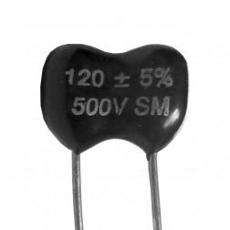 DM15-120 - Mica Capacitor 120pf 500v