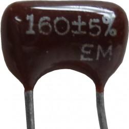 DM15-160 - 160pf Mica Capacitor