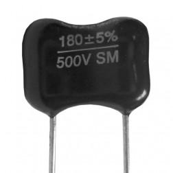 DM19-180 - Mica Capacitor 180pf 500v