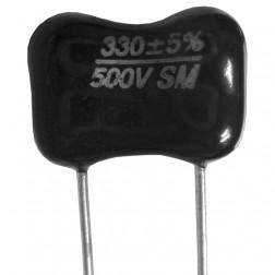DM19-330  Mica Capacitor, 330pf, 500wv