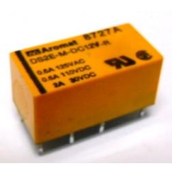 DS2E-M-DC12V-R Relay, DPDT, 12v, Reverse Polarity,  Aromat