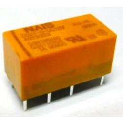 DS2Y-S-DC12V   Relay, 12 volt, 0.3amp-125vac, NAIS