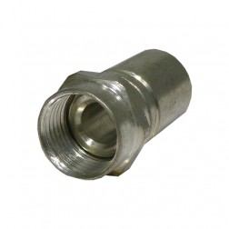 F-RG6A Connector, type f, Cable connector for rg6