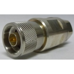 F4PNMV2-C Type-N Male Connector, Knurled Nut, FSJ4-50B