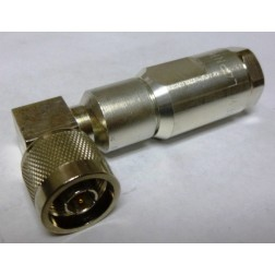 F4PNR Right Angle Type-N Male Connector, FSJ4-50B