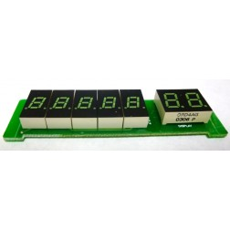 GALXDISPLAYPCB99  Complete Display Board with LED's DX55/66/99